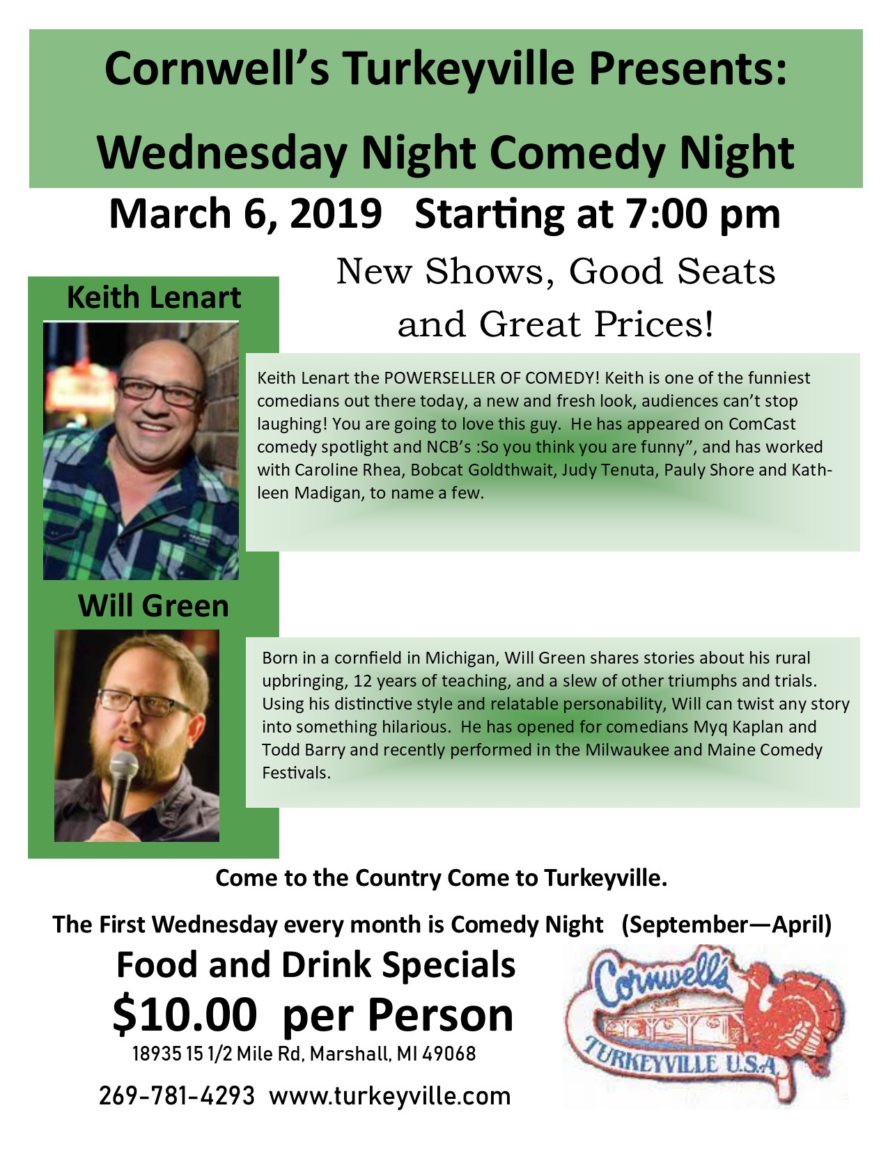 Comedy Night - Turkeyville